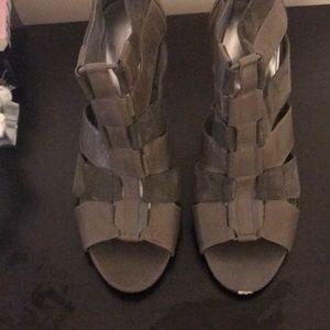 Grey texture Calvin Klein Bootie